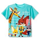 Toddler Boys' Zootopia T-Shirt - Blue 4T
