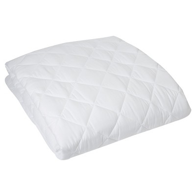 HygroSoft by Welspun Mattress Pad in White (Queen)