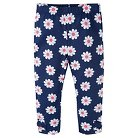 Gerber® Toddler Girls' Floral Legging Pant - Blue