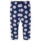 Gerber® Toddler Girls' Floral Legging Pant - Blue