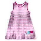 Toddler Girls' U-Knit Striped Dress - Pink 6