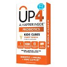 UP4 Kids Probiotic Chewable Cubes Yummy Vanilla - 60 Count