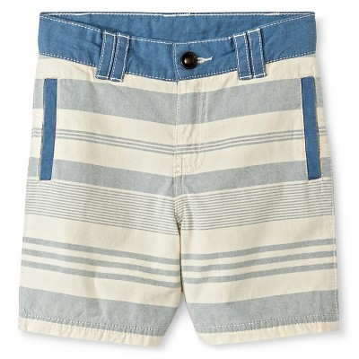 Baby Boys' Chino Short - Brave Blue 12M - Genuine Kids™ from OshKosh®