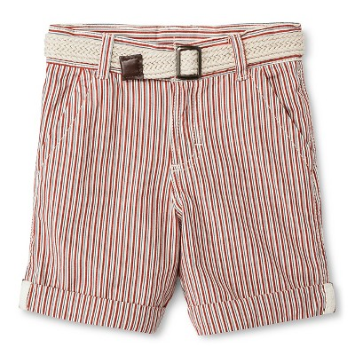 Baby Boys' Chino Short - Copper Red 18M - Genuine Kids™ from OshKosh®