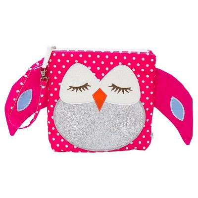 Nikiani  My First Buddy Collection Stella the Owl Snack Bag Pink