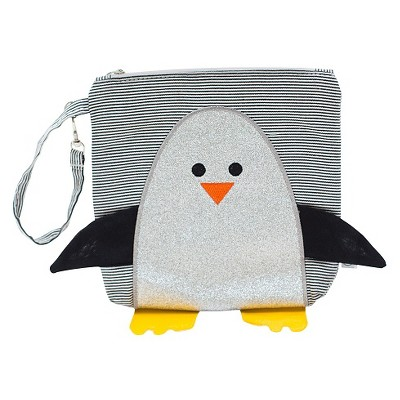 Nikiani  My First Buddy Collection Chili the Penguin Snack Bag White