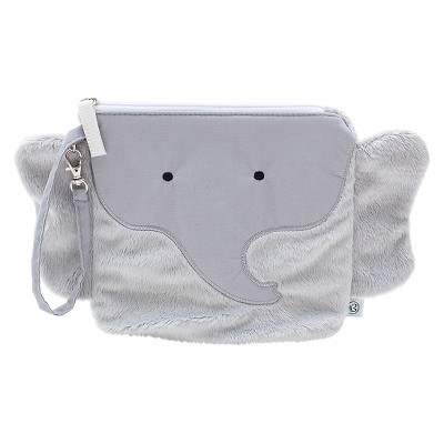 Nikiani  My First Buddy Collection Pebbles the Gray Elephant Snack Bag Blue