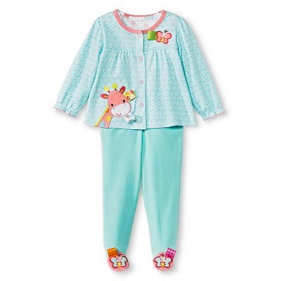 Taggies 3 Piece Take Home Set - 3M Turquoise/Pink