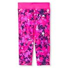 Girls' Printed Performance Yoga Capri Purple Star Multi - C9 Champion®