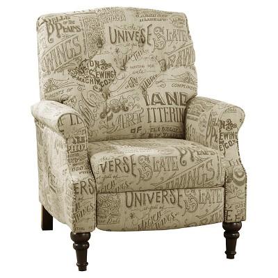 Stahlworth High Leg Recliner Script - Ashley Furniture