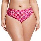 Marimekko for Target Women's Plus Size Bikini Bottom - Appelsiini Print - Warm 2X