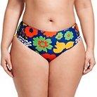 Marimekko for Target Women's Plus Size Reversible Bikini Bottom - Kukkatori Print - Primary 2X