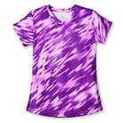 Girls' Printed Tech T-Shirt Purple L - C9 Champion®