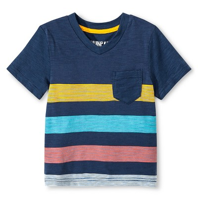 Baby Boys' T-Shirt - Metallic Blue 12M - Genuine Kids™ from OshKosh®