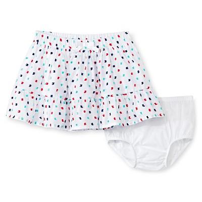 Baby Girls' Polka Dots Mini Skirt White 12M - Genuine Kids from Oshkosh™