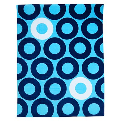 Evergreen Rings Towel For Two - Blue - Evergreen