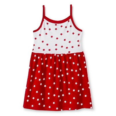Baby Girls' 4th of July Star Dress Red 18M - Circo™