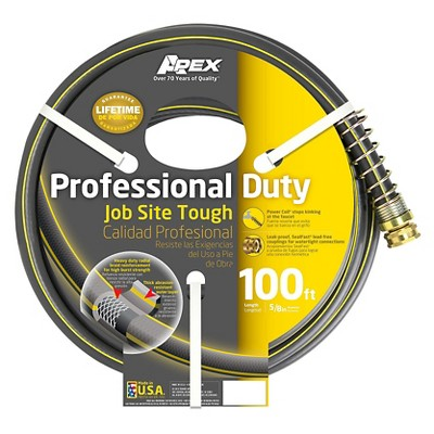 Apex 888VR-100 Contractor Rubber/Vinyl Hose, 5/8-Inch by 100-FT