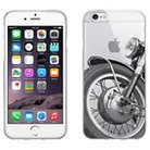 iPhone 6/6S Case - OTM Rugged Prints Clear - Motorcycle