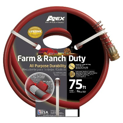 Apex 989-75 Farm & Ranch Duty All Purpose Hose, 3/4-Inch by 75-FT