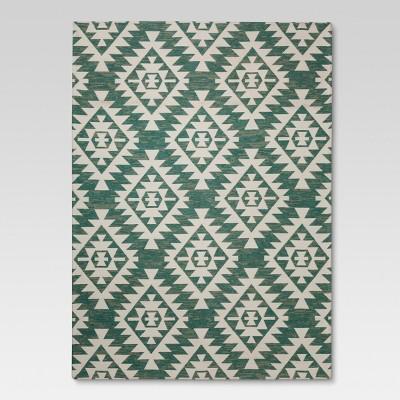Area Rug Sahara Turquoise (5'X7') - Threshold™