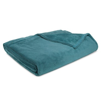 Bed Blanket Microplush Full/Queen Teal - Room Essentials™