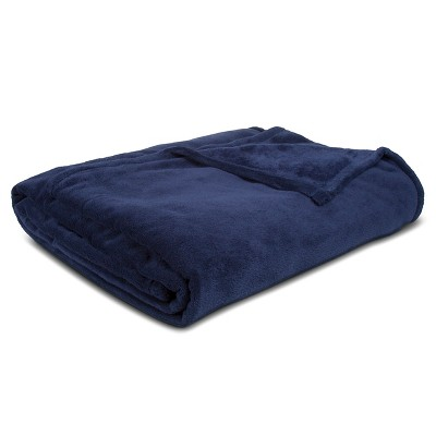 Bed Blanket Microplush Full/Queen Blue - Room Essentials™