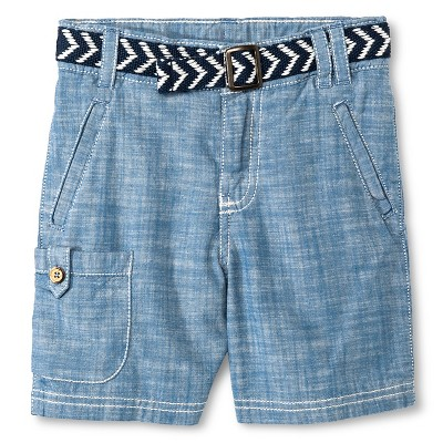 Baby Boys' Cargo Short - Blue Beam 12M - Genuine Kids™ from OshKosh®