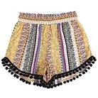 Girls'  Xhilaration™ Fashion Shorts - Yellow XS