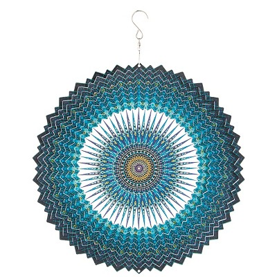 Tonal Blue Kaleidoscope Spectrum Spinner Blue - Evergreen