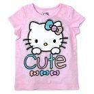 Hello Kitty Baby Girls' Short Sleeve Tee - Pink