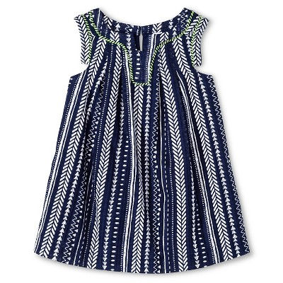 Baby Girls' Arrows Dress Blue 18M - Cherokee®