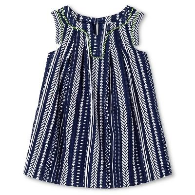 Baby Girls' Arrows Dress Blue 18M - Cherokee®