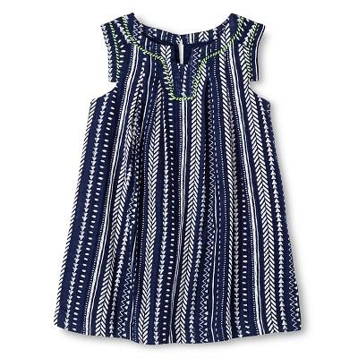 Toddler Girls' Arrows Dress Blue 2T - Cherokee®