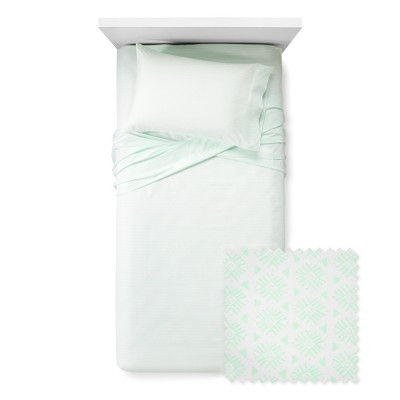 Cool Burst Sheet Set Queen Mint Green - Xhilaration™