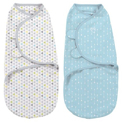 SwaddleMe® 2pk Circo - Arrows and Triangles