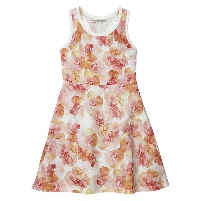 A Line Dresses Peach Burt's Bees 2T