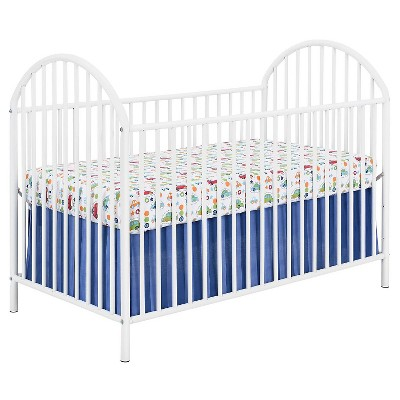 Prism Metal Crib - White