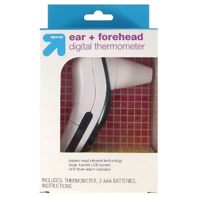 up & up™ Ear and Forehead Digital Thermometer - White