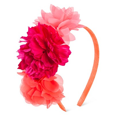 Toddler Girls' Flower Headband Pink OSFM - Cherokee®