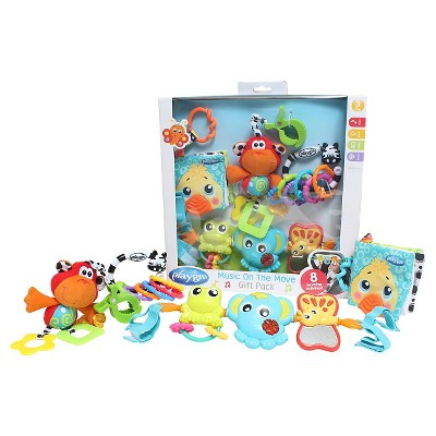 Playgro Music on the Move Gift Pack 10 Pc