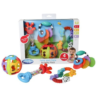 Playgro Twist and Chew Activity Gift Pack 4 Pc