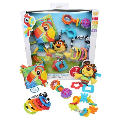 Playgro Tag Along Travel Pack 11 Pc