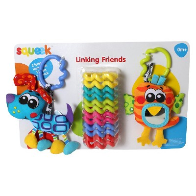 Playgro Squeek Linking Friends Pack