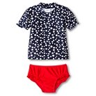 Just One You™ Made by Carter's® Toddler Girls' Americana Rash Guard Swimsuit Set 6