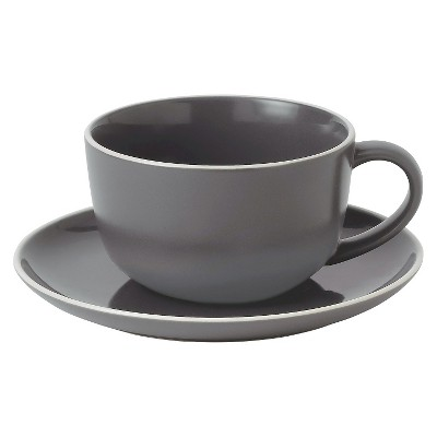 Gordon Ramsay by Royal Doulton Bread Street Slate Cup & Saucer
