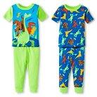 Infant Boys' Good Dinosaur 4Pc Sleepwear Set - Green 12M