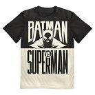 DC Comics Batman Vs Superman Boys' Tee - Black XS