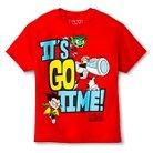 Teen Titans Go! Boys' T-Shirt - Red M