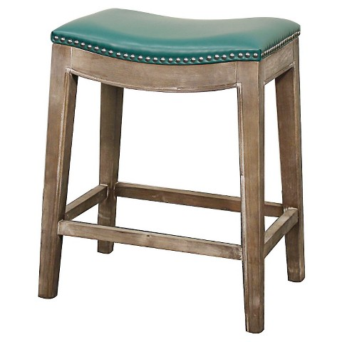 Elmo Bonded Leather 25 Quot Counter Stool Wood Multi Target
